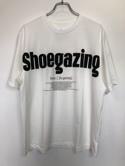 【JOHN MASON SMITH】SHOEGAZING S/S T-SHIRT