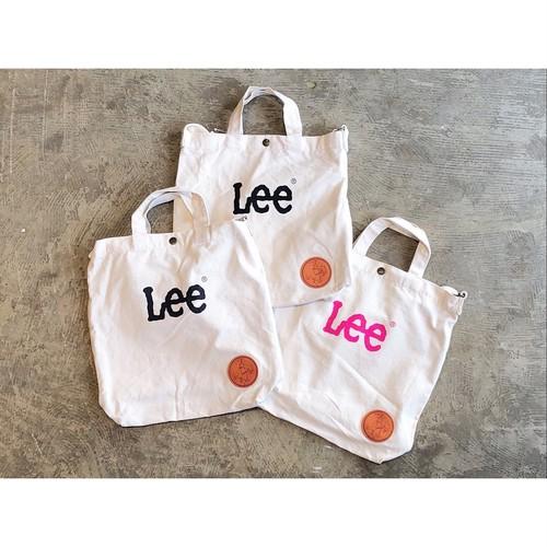 hawkcompany×Lee(ホークカンパニー×リー) Cotton Canvas 2Way Tote Bag