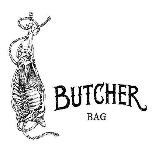 """BUTCHER"" flat BAG"