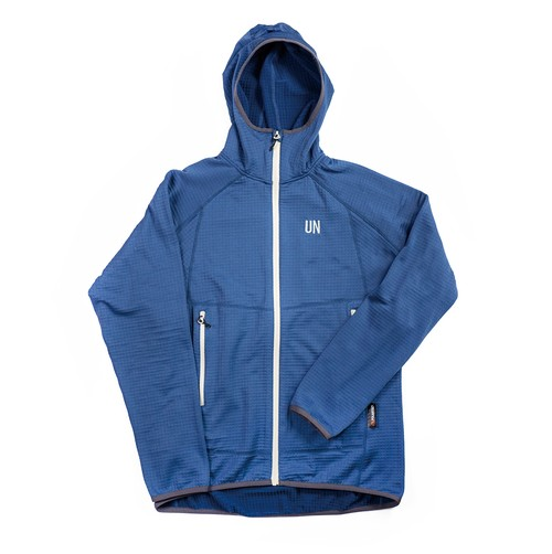 UN2100 Light weight fleece hoody / Navy