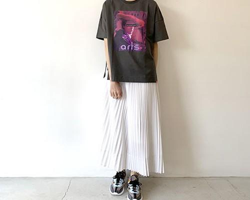 パンチング プリーツスカート / araara