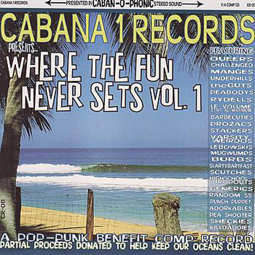 v/a where the fun never sets vol.1 cd