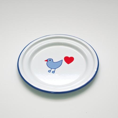 青い鳥 お皿