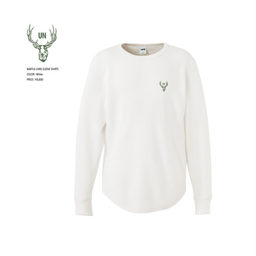 unfudge LONG SLEEVE SHIRTS / WHITE
