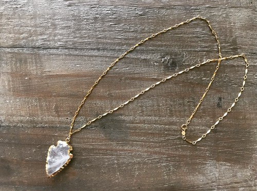 【14kgf】Arrow's head necklace