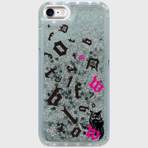 【受注生産】iPhone case シルバースター パズルロゴ&フクロウ iPhone6/6s/7/8対応