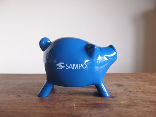 MK TRESMER/ SAMPO ノベルティーマネーボックス(インテリアエレメント)