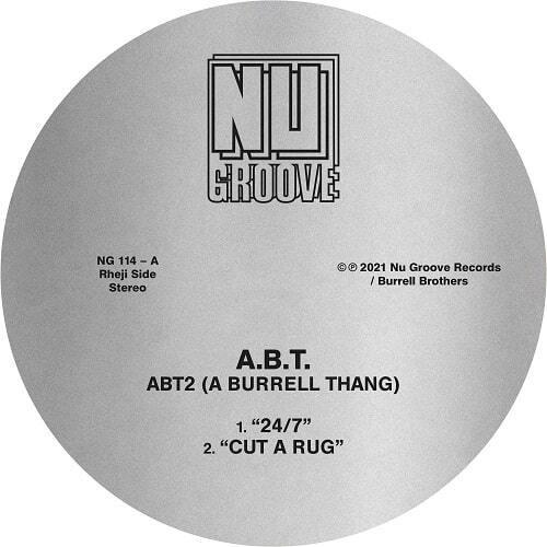 """【ラスト1/12""""】A.B.T. - ABT2 (A BURRELL THANG)"""