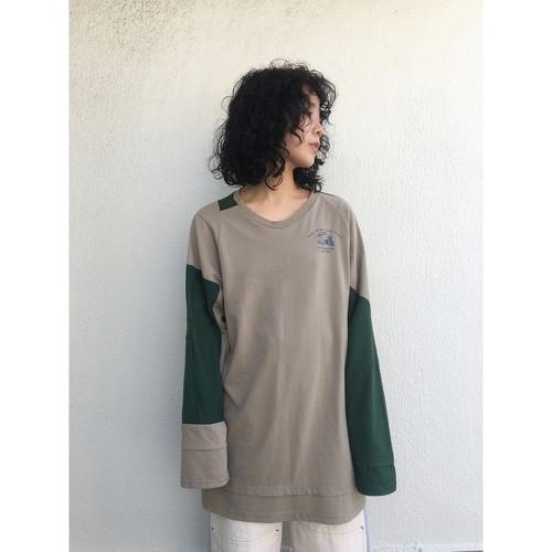 oneoff remeke / FUDO long sleeve / beige