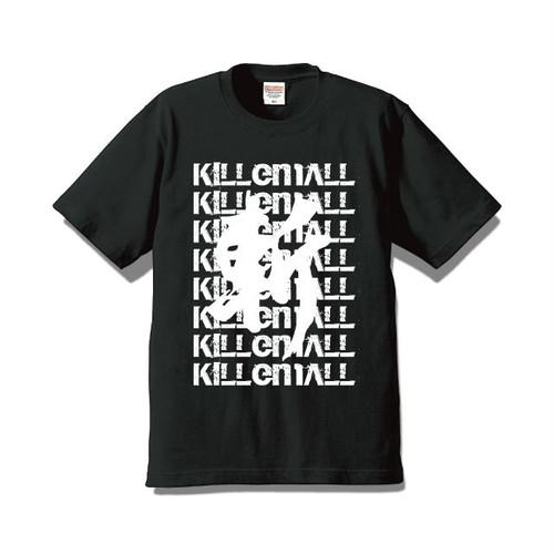 500円OFF!【斬る'em ALL】デザインTシャツ BLACK(送料込み)