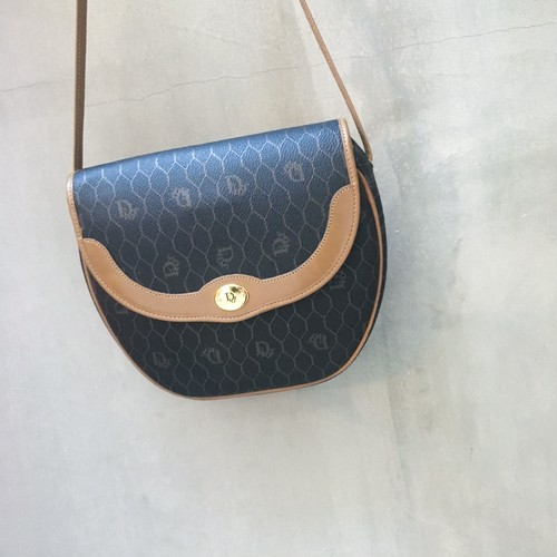 Christian Dior classic monogram shoulder bag