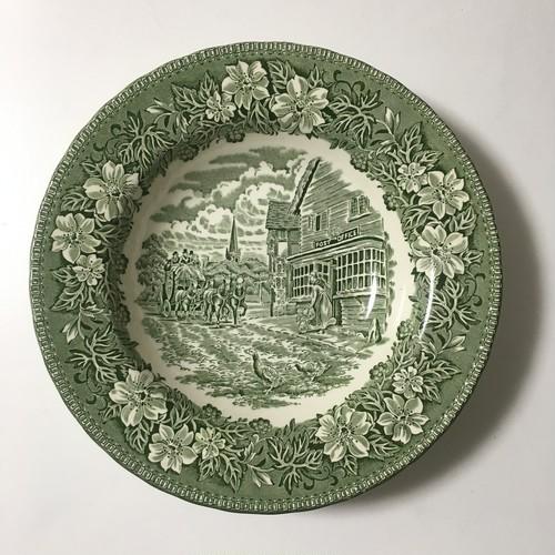 England製  W. N. Mellor社  スープ皿