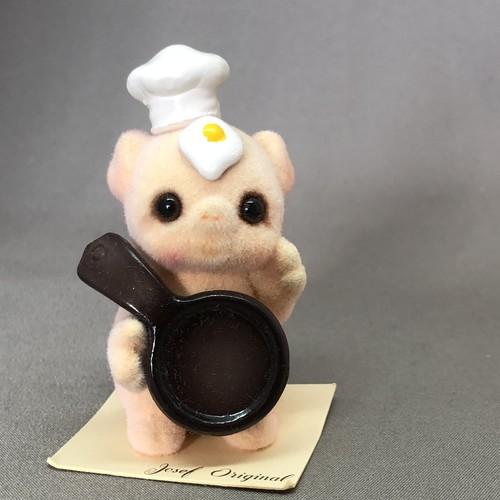 昭和レトロ お料理失敗の豚さん  置物 アンティーク ジョセフオリジナル