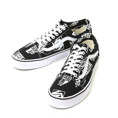 VANS OLD SKOOL (LOGO MIX) BLACK/TRUE WHITE