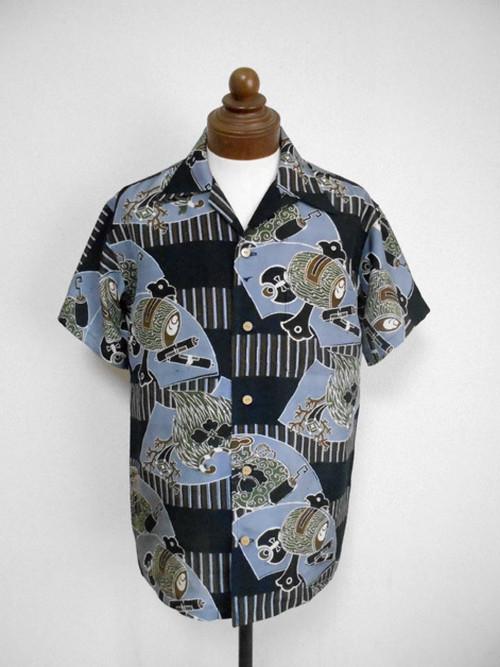 着物アロハシャツ Kimono Aloha Shirt AL-610/L