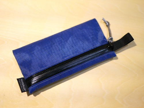 WANDERLUST EQUIPMENT / TRAIL ZIP WALLET Ⅱ (NAVY)