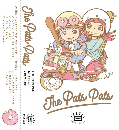 THE PATS PATS「THE PATS PATS」カセットテープ+DLコード付アルバム