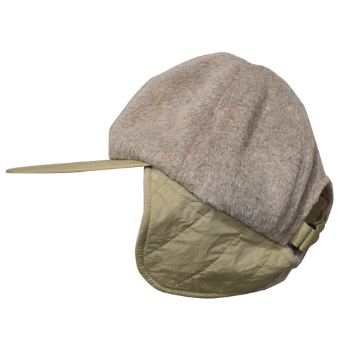 NOROLL(ノーロール) / FLEECE CAP -LIGHT BEIGE-