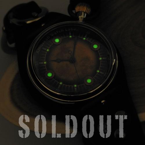 腕時計「月影」TYPE-04 / AGING GREEN