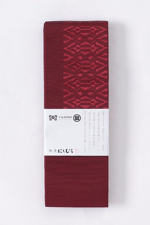 博多角帯 / 鬼献上 / Red