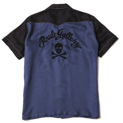 MAD SKULL WESTERN SHIRT / RUDE GALLERY