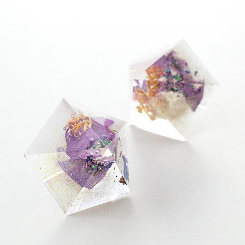 ペンタゴンピアス(紫陽花と野草)