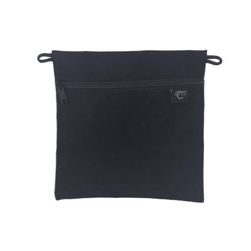 COMA BRAND / ACCESSORIES BAG - BLACK x BLACK -