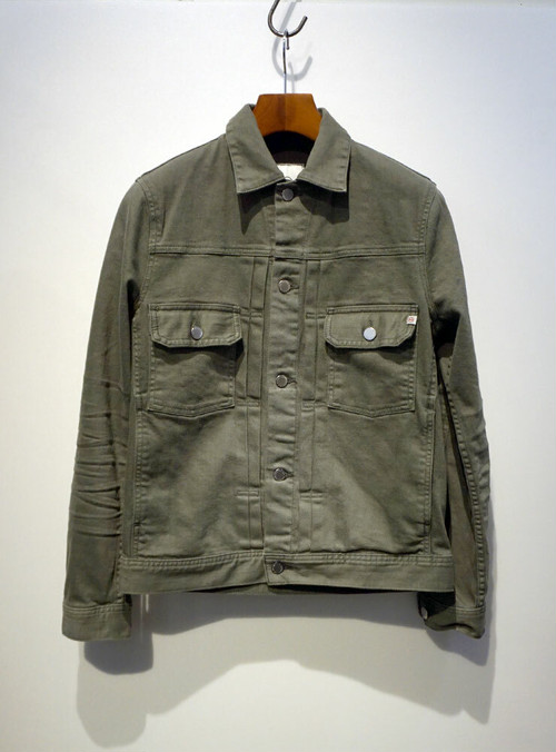 AG adriano goldschmied OMAHA JACKET カーキ