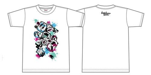 「色、色々」Tシャツ