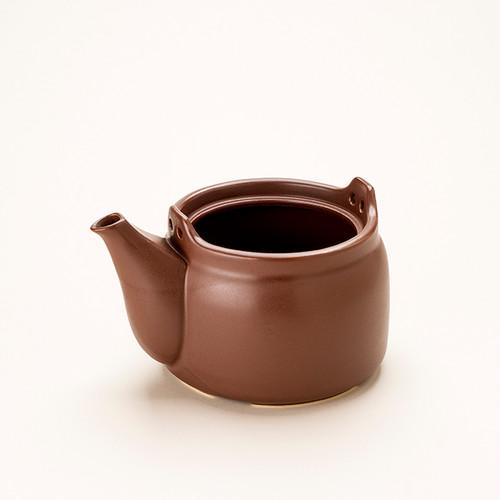けんこう土瓶本体 大サイズ 茶色