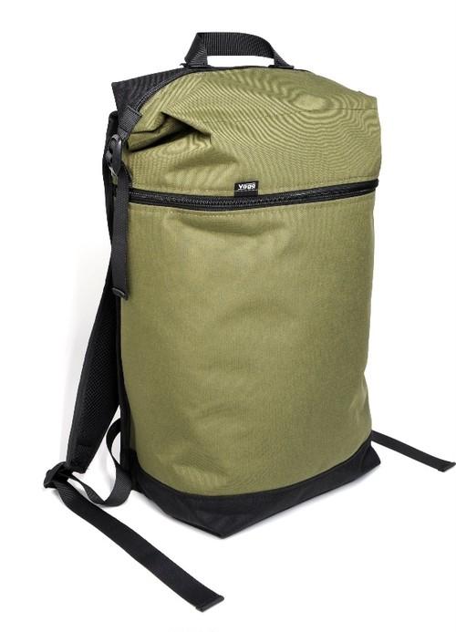VAGA Wedge backpack for skateboard Dark olive