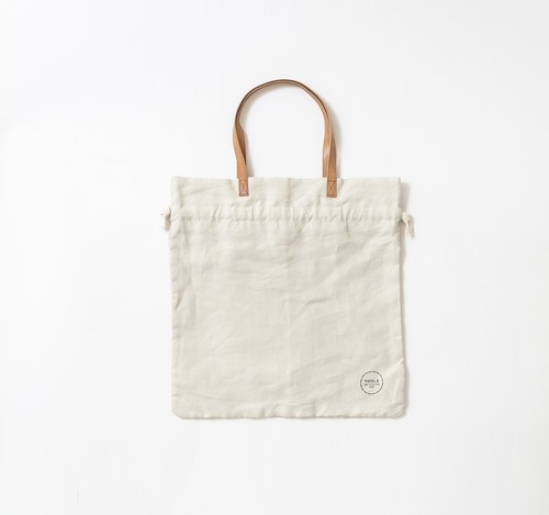 linen utility tote bag S