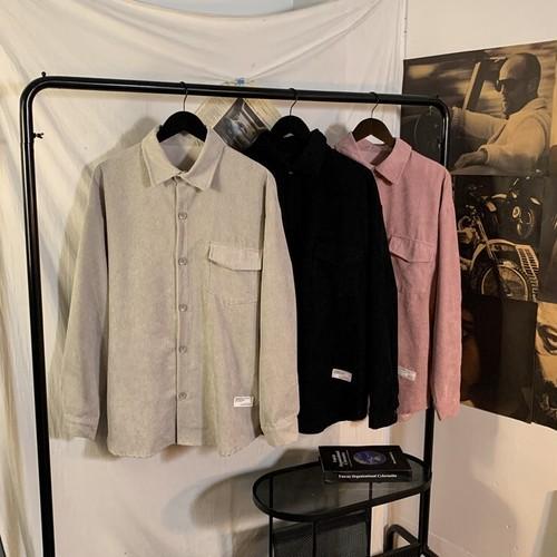 コーデュロイルーズシャツ #BL7269