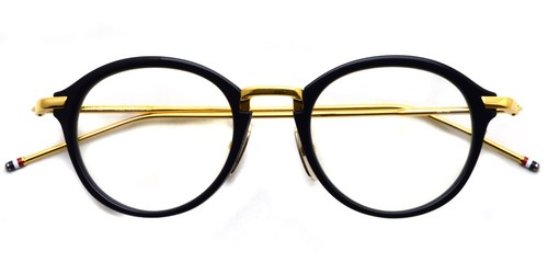 TB-011 (Navy - Shiny 18K Gold)   / Thom Browne