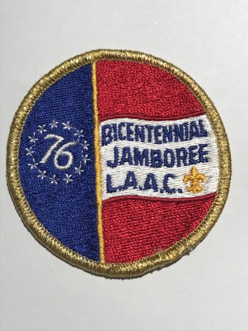 """Patch""""BICENTENNIAL JAMBOREE L.A.A.C"""""""