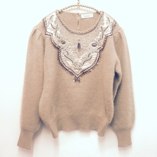 milk tea knit