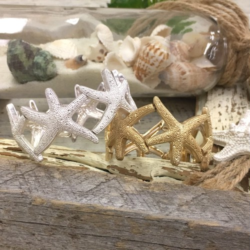 Stretch Metal STARFISH Bracelet (PB0334)
