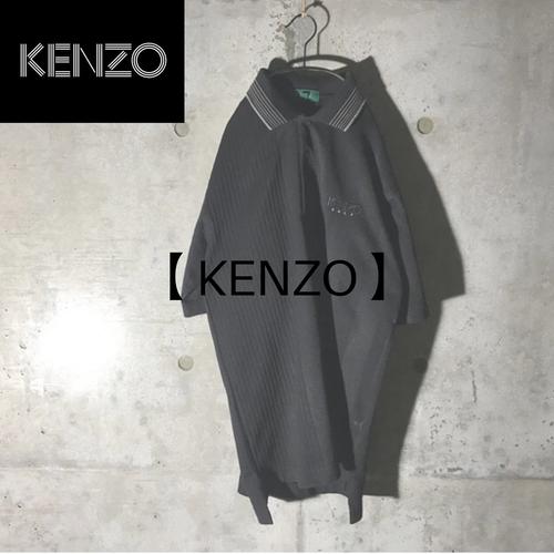 [KENZO] black mode polo