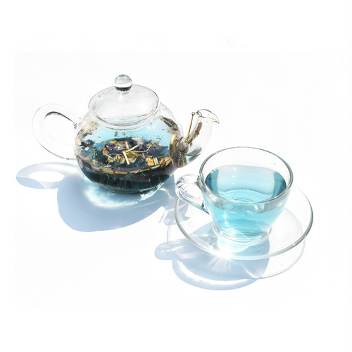 鮮やかな青いお茶☆バタフライピーブレンド10g入り(ブレンドハーブティー)