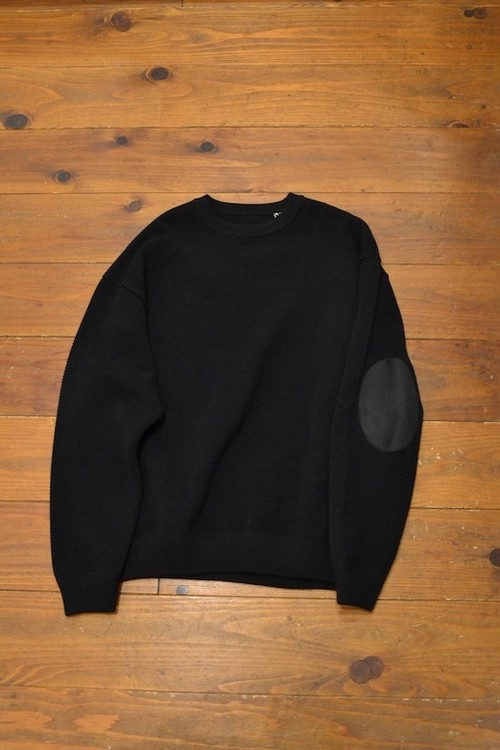 crepuscule / moss stitch l/s sweat