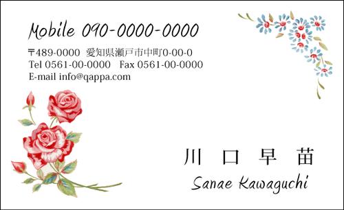 イラスト入り名刺5042 (100枚)