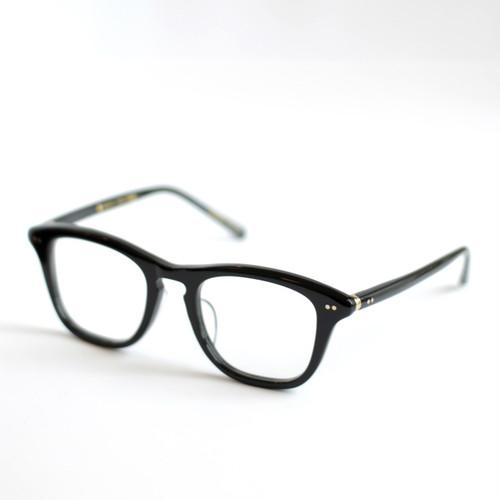 ayame:アヤメ 《FALCON -ファルコン col.Black》 眼鏡 ウエリントン