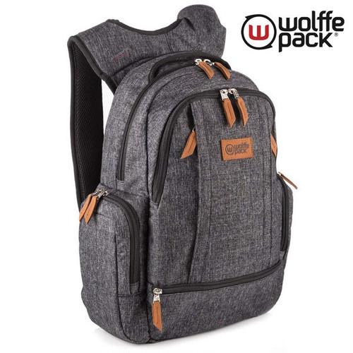 斬新で画期的!wolffe pack(ウルフパック) バックパック ルナ 20L チャコール