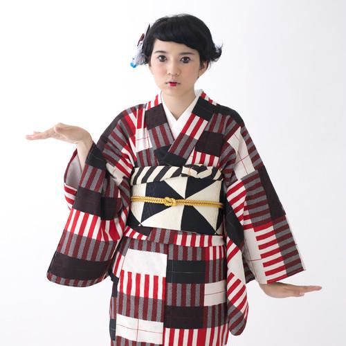 《OUTLET》キャンディストライプ構成主義/赤黒【コンポジシリーズ】