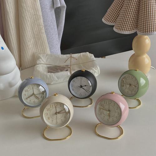 classic retro alarm clock 6colors / クラシック レトロ アラーム クロック 置き時計 韓国 雑貨