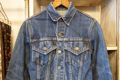 "70's Levi's 70505 ""3rd"" denim Jacket ""XS"""