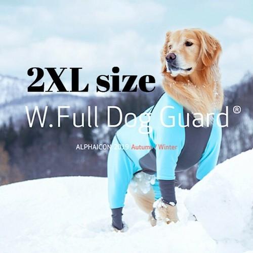 【ALPHAICON】 ダブルフルドッグガード 2XLサイズ  アルファアイコン W. Full Dog Guard 2XL
