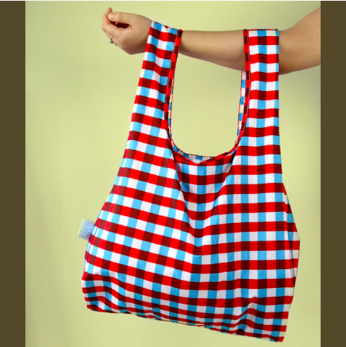 KIND BAG -LONDON- Eco bag Tricolour エコバッグ M
