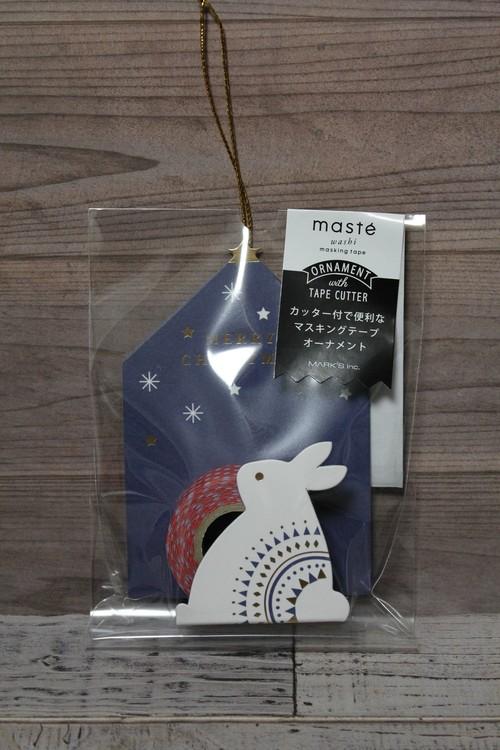 マスキングテープオーナメント/ウサギ