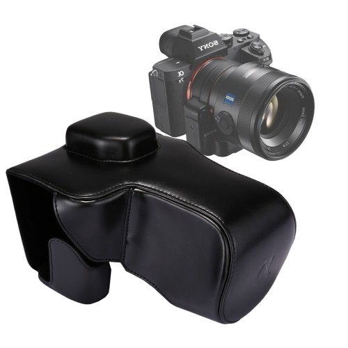 Japan Pro Video・Full Body Camera PU Leather Case Bag with Strap for Sony α7 II / α7R II / α7S II